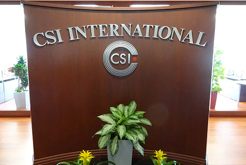 CSI International, Inc. Leed Green Nation Operations